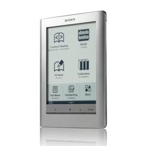 Picture of PRS-600 Sony eReader Touch Edition - Silver