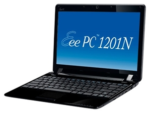 Picture of ASUS Eee PC 1201N Seashell (Black)